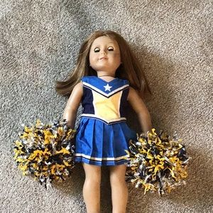 Other - American girl cheer costume